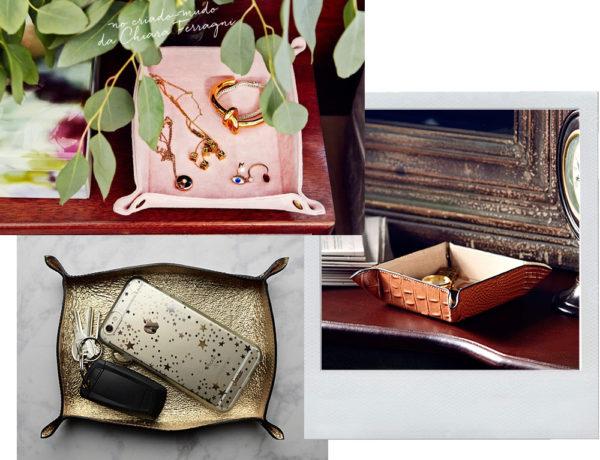 Vide-poche, para decorar e guardar