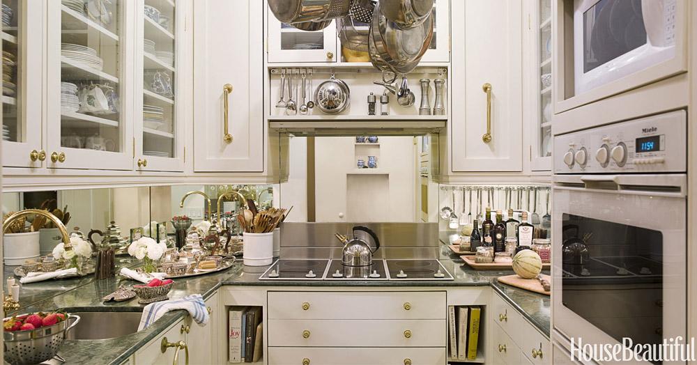 Cozinha pequena: charme e eficiência em 4,5 m2 • Living Gazette