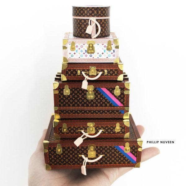 O mundo luxuoso, irresistível e em miniatura de Phillip Nuveen