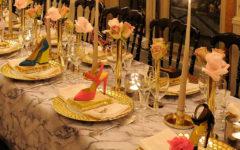 As mesas divertidas dos jantares da Charlotte Olympia • Living Gazette