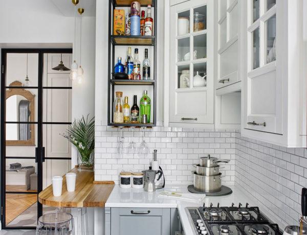Décor do dia: cozinha compacta e charmosa