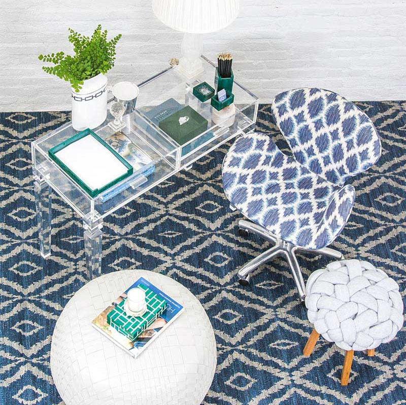 A nova linha incrível de tapetes da Theodora Home
