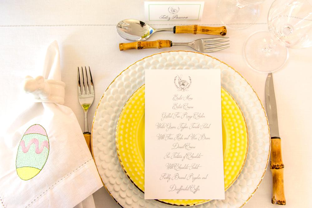 Mesa de almoço de páscoa por Kasa 57