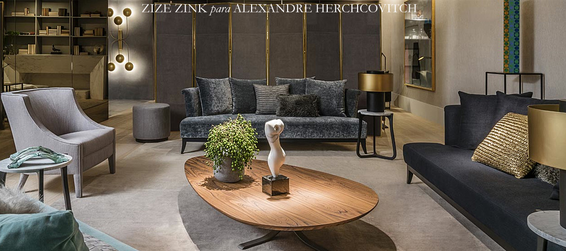 Mostra Artefacto 2017: Zize Zink para Alexandre Herchcovitch