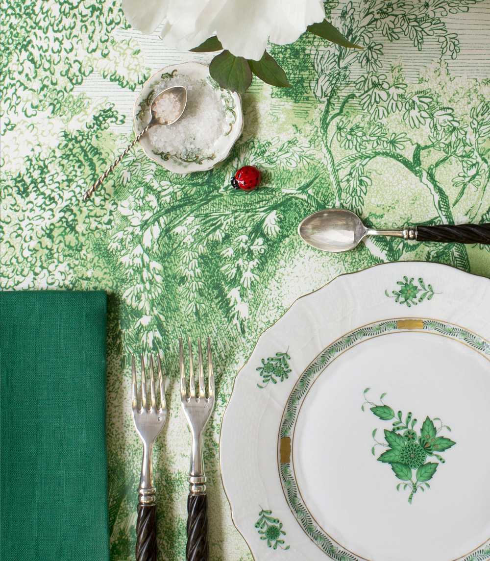 Tableware: Greenery by Vogue