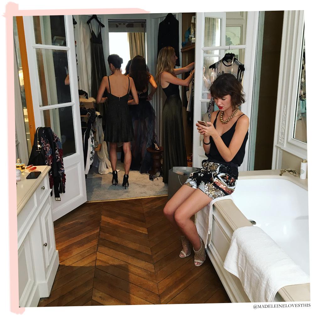Lançamento perfume Girl of Now em Paris