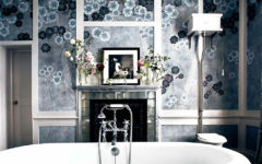 O banheiro old glamour de Kate Moss