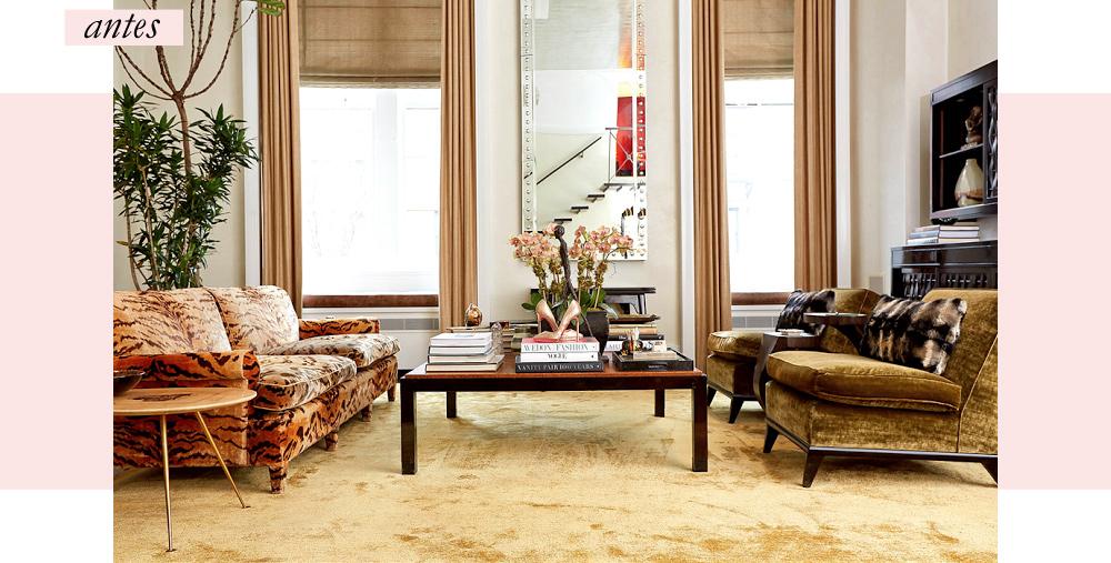 A redecoração do loft de Carole Radziwill