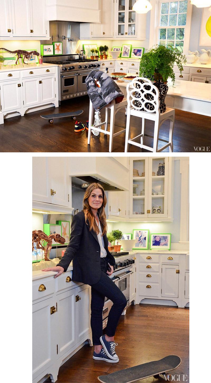 Incroyable Living Gazette Barbara Resende Decor Tour Casa Wisconsin Aerin Lauder  Kitchen