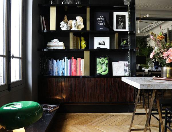 Classico e contemporâneo em apto em Paris