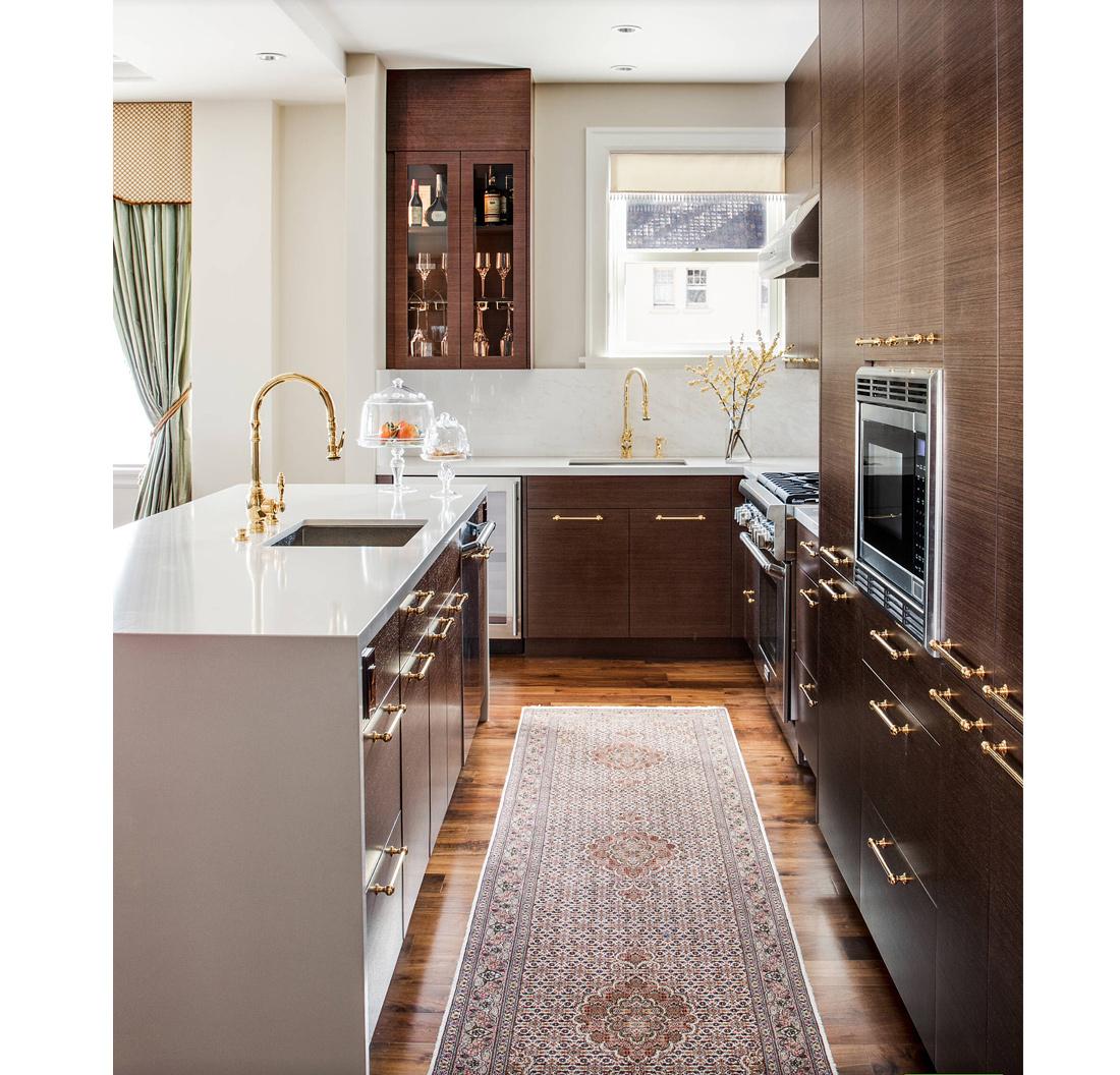 Minimalismo Chique Na Cozinha Com Madeira E M Rmore Living Gazette