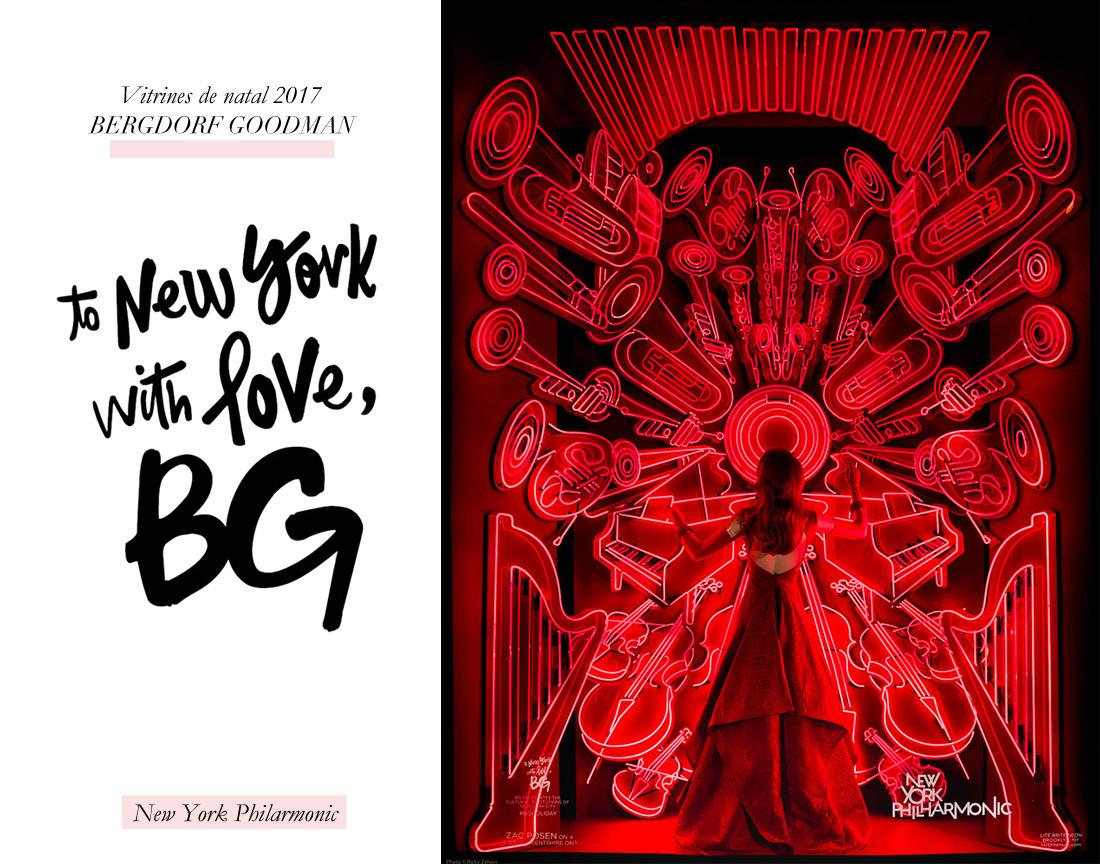 To New York with Love: as vitrines de natal 2017 da Bergdorf Goodman